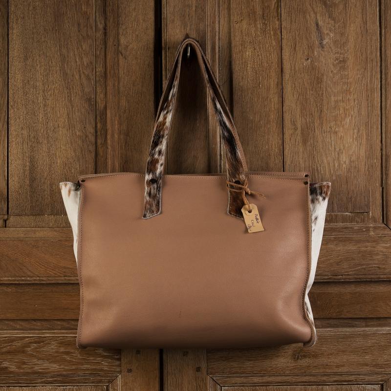 Bags by-J - Nudie Cow Light