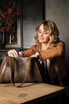 Bags by-J - Green Crocodile (€ 229,-)