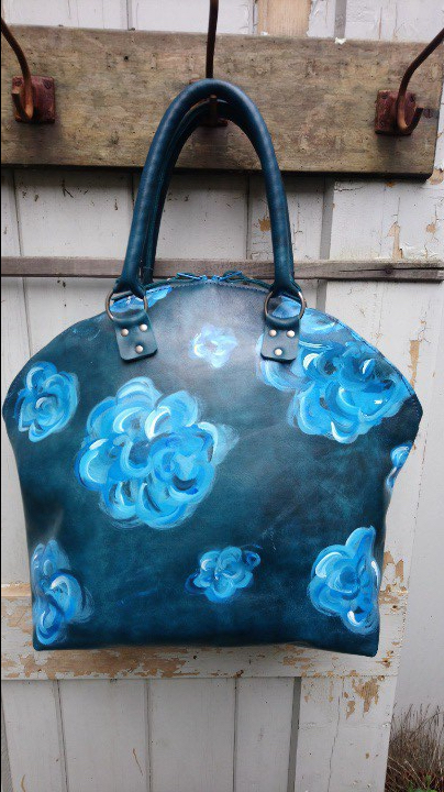 BAGS BY-J PAINT IT BLUE